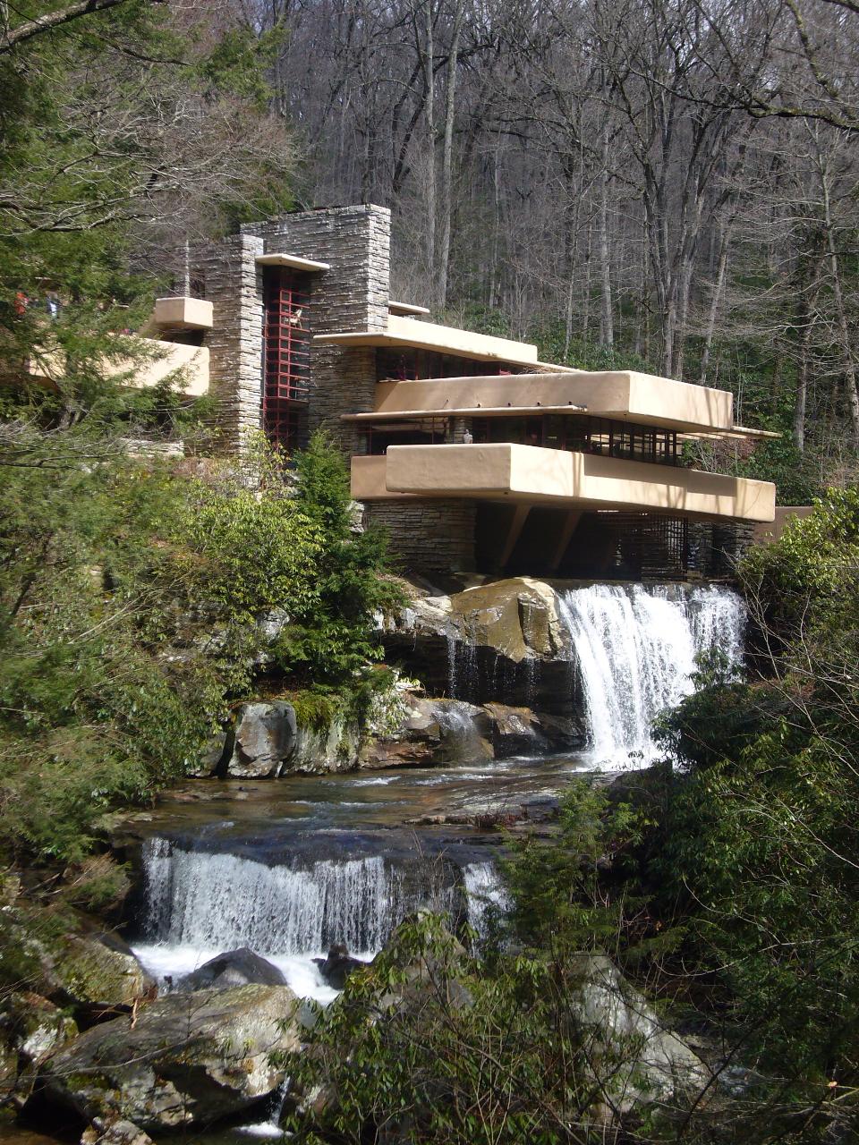 Actualit s jean marc st b - La maison sur la cascade frank lloyd wright ...
